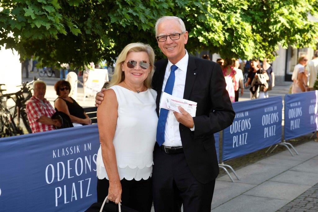 Klassik am Odeonsplatz; eine Veranstaltung des Bayerischen Rundfunks am 13.07.2018